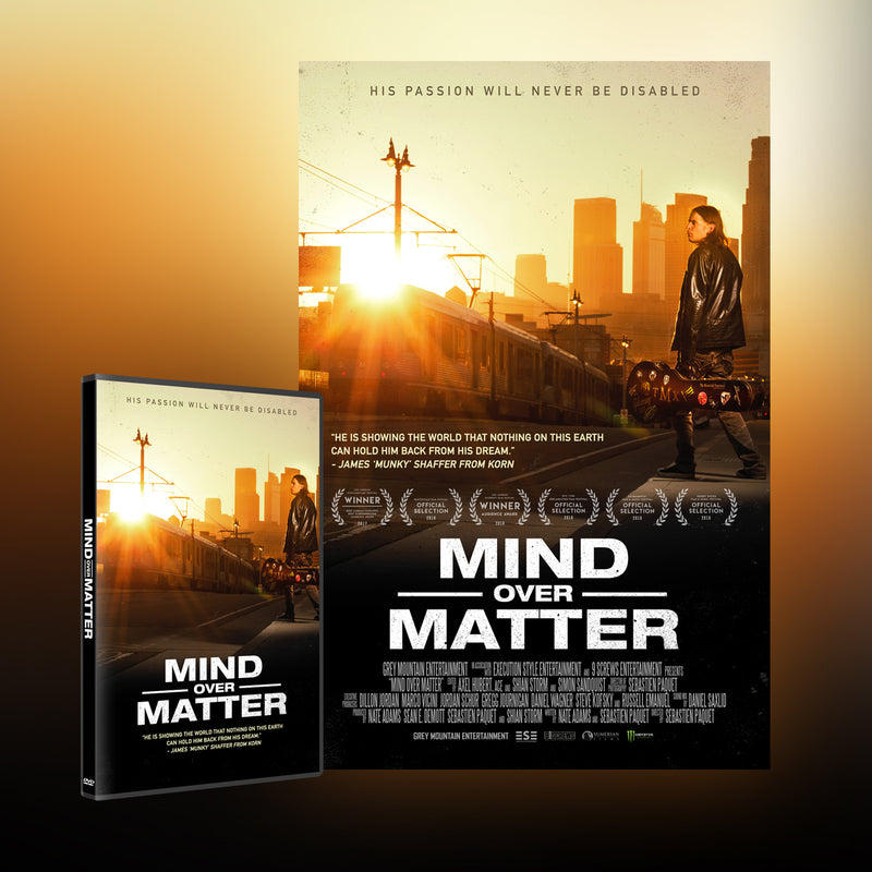 Mind Over Matter [DVD] + Poster