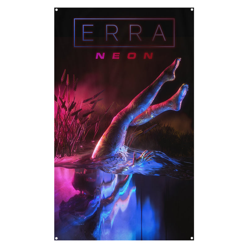 ERRA - Neon Wall Flag