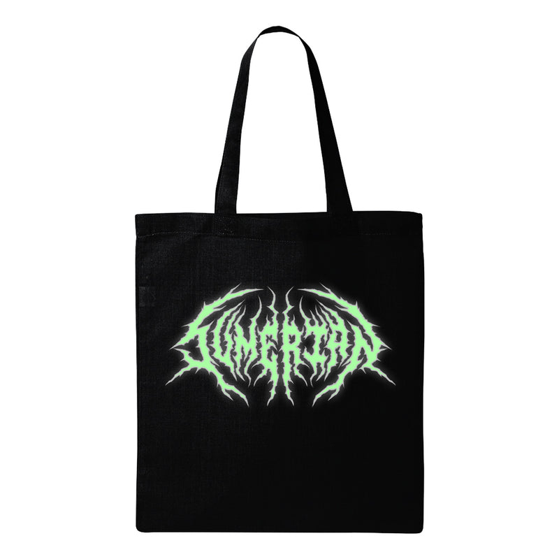 Sumerian Death Metal - Glow In The Dark Tote Bag (Black)