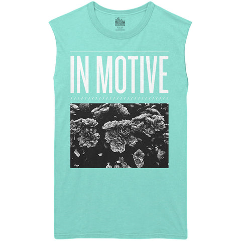 IN MOTIVE - Floral Cut-Off Tee