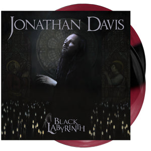 Jonathan Davis - 'Black Labyrinth' Dark Red/Opaque Black Half & Half Vinyl
