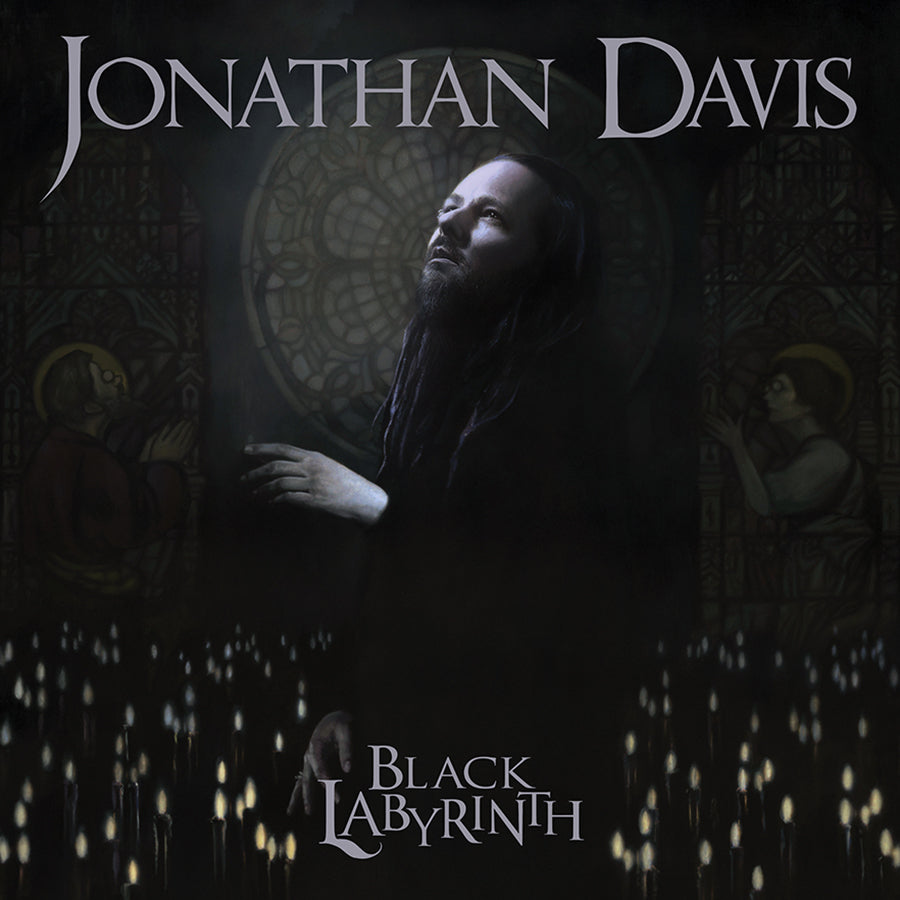 Jonathan Davis - 'Black Labyrinth' Tri-Fold CD Wallet