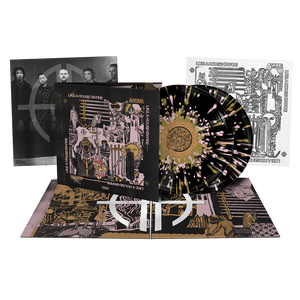 Asking Alexandria - 'Like A House On Fire' Black w/ Gold & Pink Splatter 2xLP - Pre-order