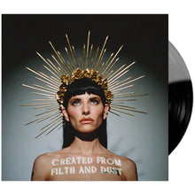"Lilith Czar - 'Created From Filth And Dust' 12"" Black & Ultra Clear Moonphase Vinyl"