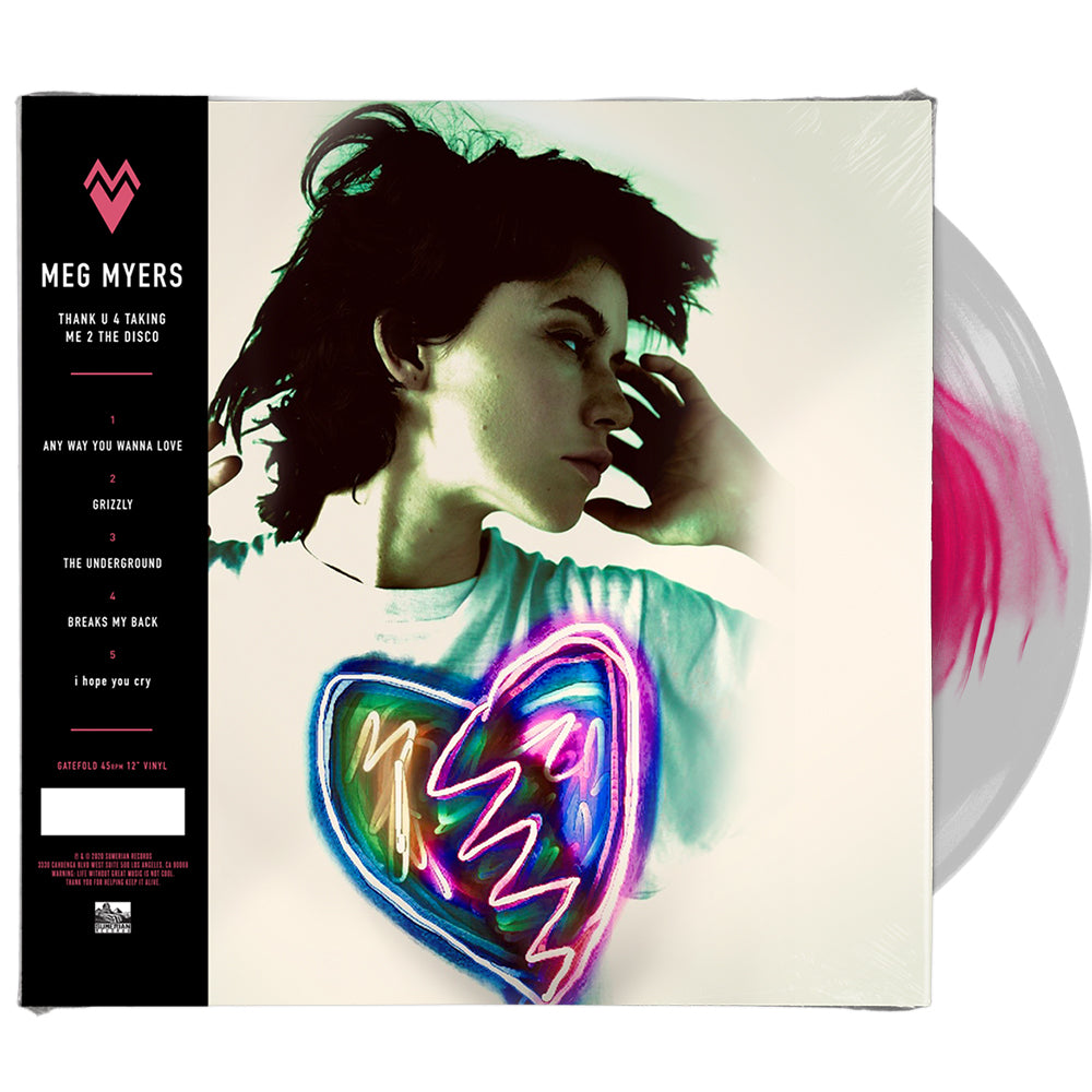 Meg Myers - 'Thank U 4 Taking Me 2 The Disco' + 'I'd Like 2 Go Home Now' (LP)
