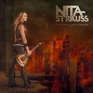 Nita Strauss - 'Controlled Chaos' CD Digipak
