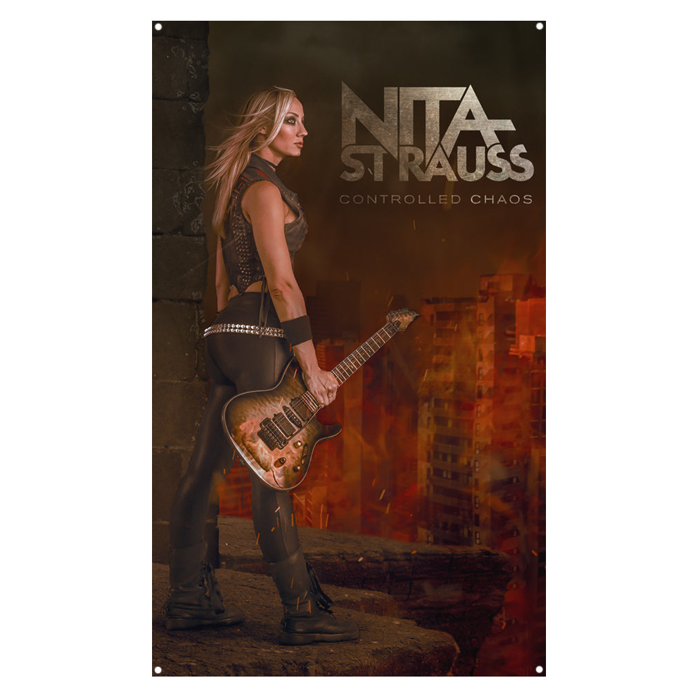 Nita Strauss - Controlled Chaos Wall Flag