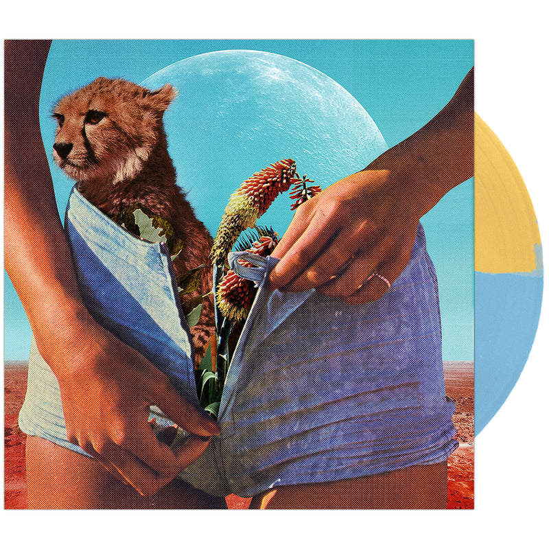 Night Riots - 'New State of Mind' Half/Half Yellow & Sky Blue Vinyl