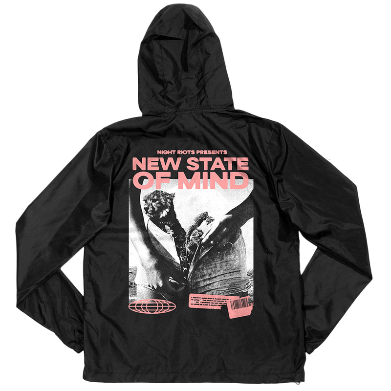 Night Riots - New State Of Mind Album Art Windbreaker