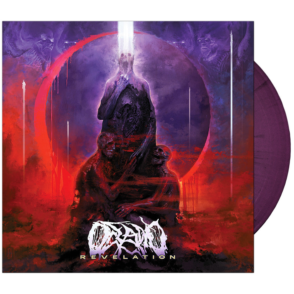 Oceano - Revelation 'Trans Purple/Black Splatter' Vinyl