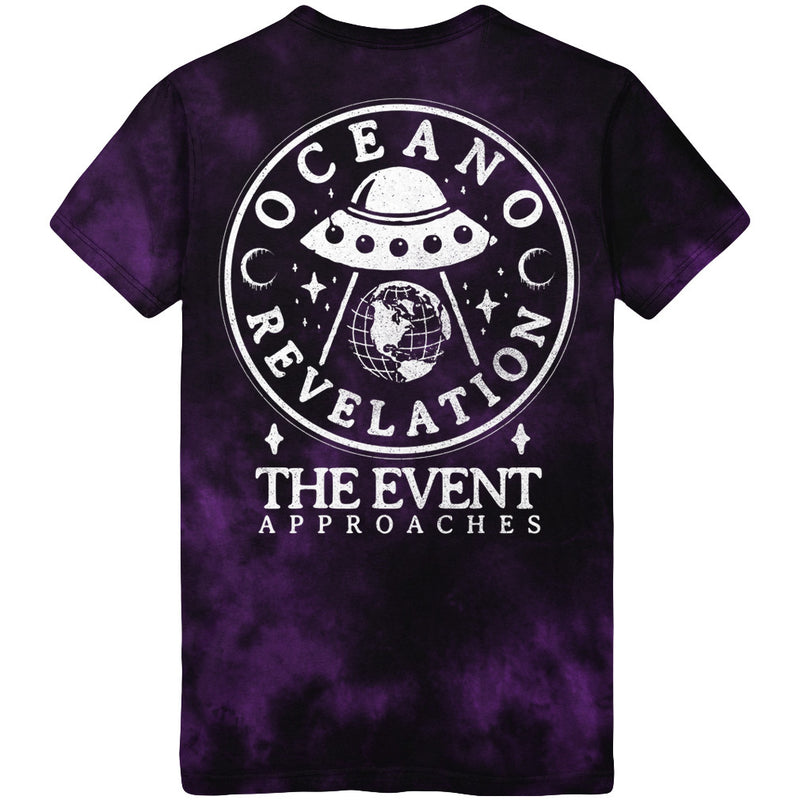 Oceano - Purple Crystal Wash UFO Tee