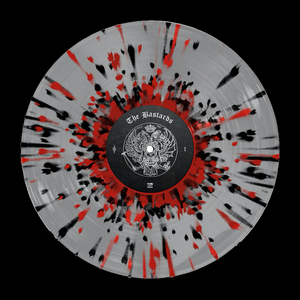 Palaye Royale - 'The Bastards' Vinyl Ultra Clear w/ Red & Black Splatter
