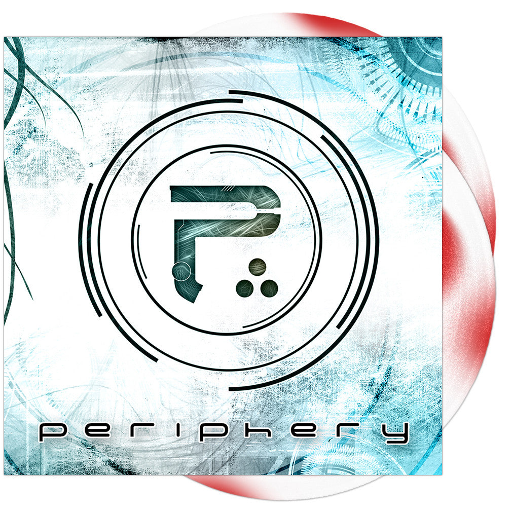 Periphery - 'Periphery' Red/White Haze Vinyl