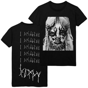 Poppy - 'I Disagree' Album Artwork Tee