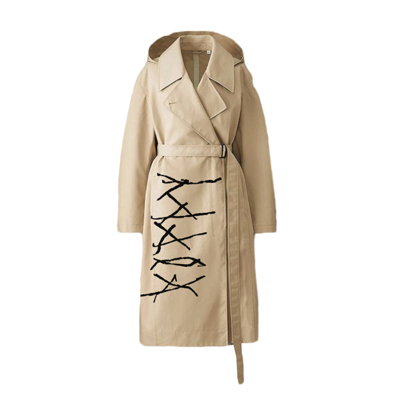 Poppy - 'I Disagree' Trench Coat