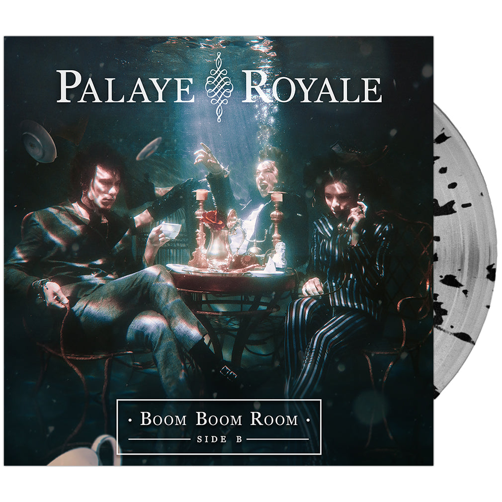 Palaye Royale - 'Boom Boom Room (Side B)' Clear w/Black Splatter Vinyl