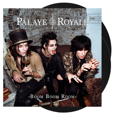 Palaye Royale - Boom Boom Room 'Opaque Black' Vinyl