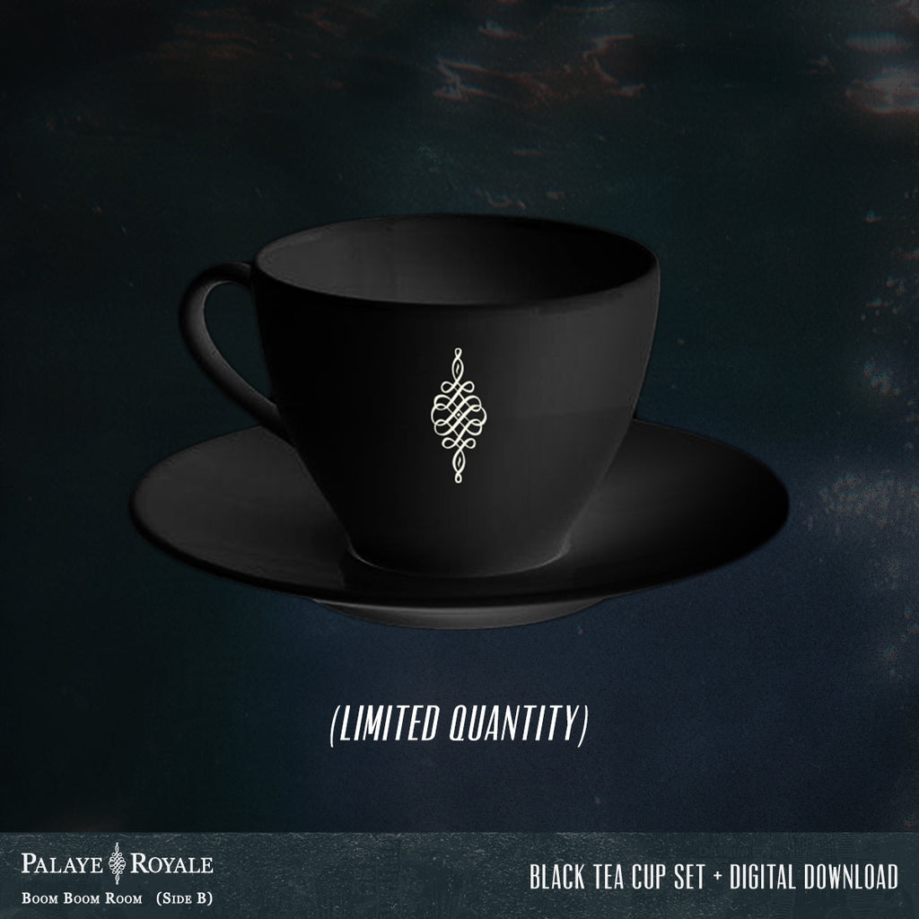 Palaye Royale - 'Boom Boom Room (Side B)' Alternate Black Tea Set Flash Bundle
