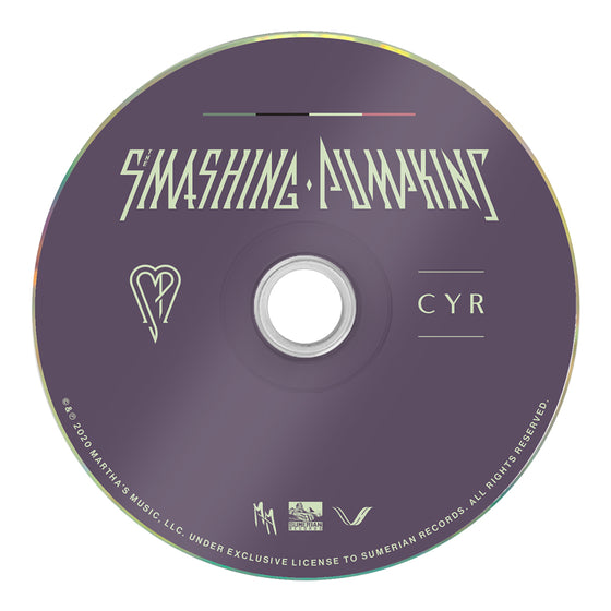 "The Smashing Pumpkins - ""CYR"" (Deluxe CD)"