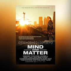 Mind Over Matter [DVD] + Guitar Strap + Poster + Silhouette T-Shirt (White)