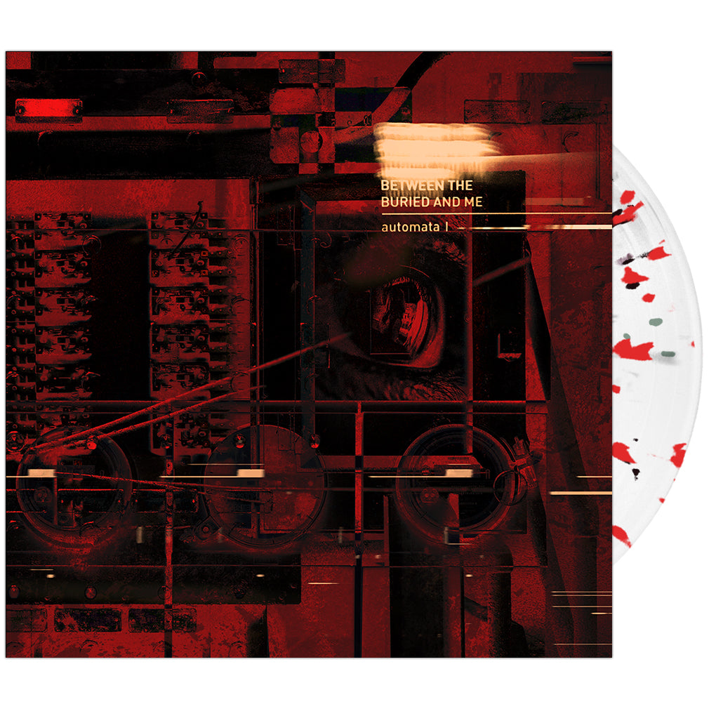 Between The Buried And Me - 'Automata I' Trans Clear w/ Black & Red Splatter Vinyl