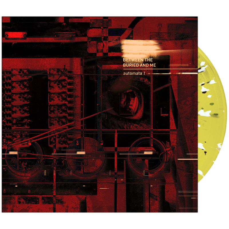 Between The Buried And Me - 'Automata I' Trans Yellow w/ Black & White Splatter Vinyl