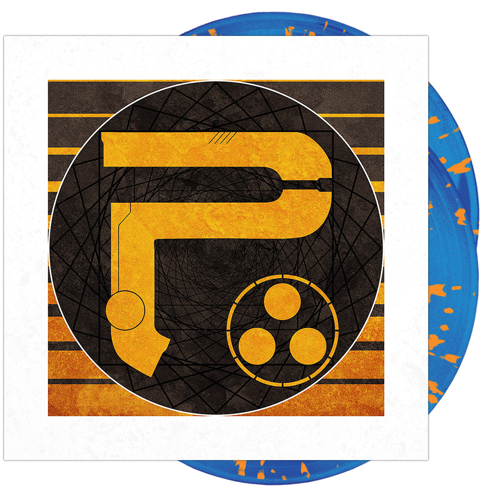 Periphery - 'P III: Select Difficulty' Opaque Blue w/ Orange Splatter Vinyl