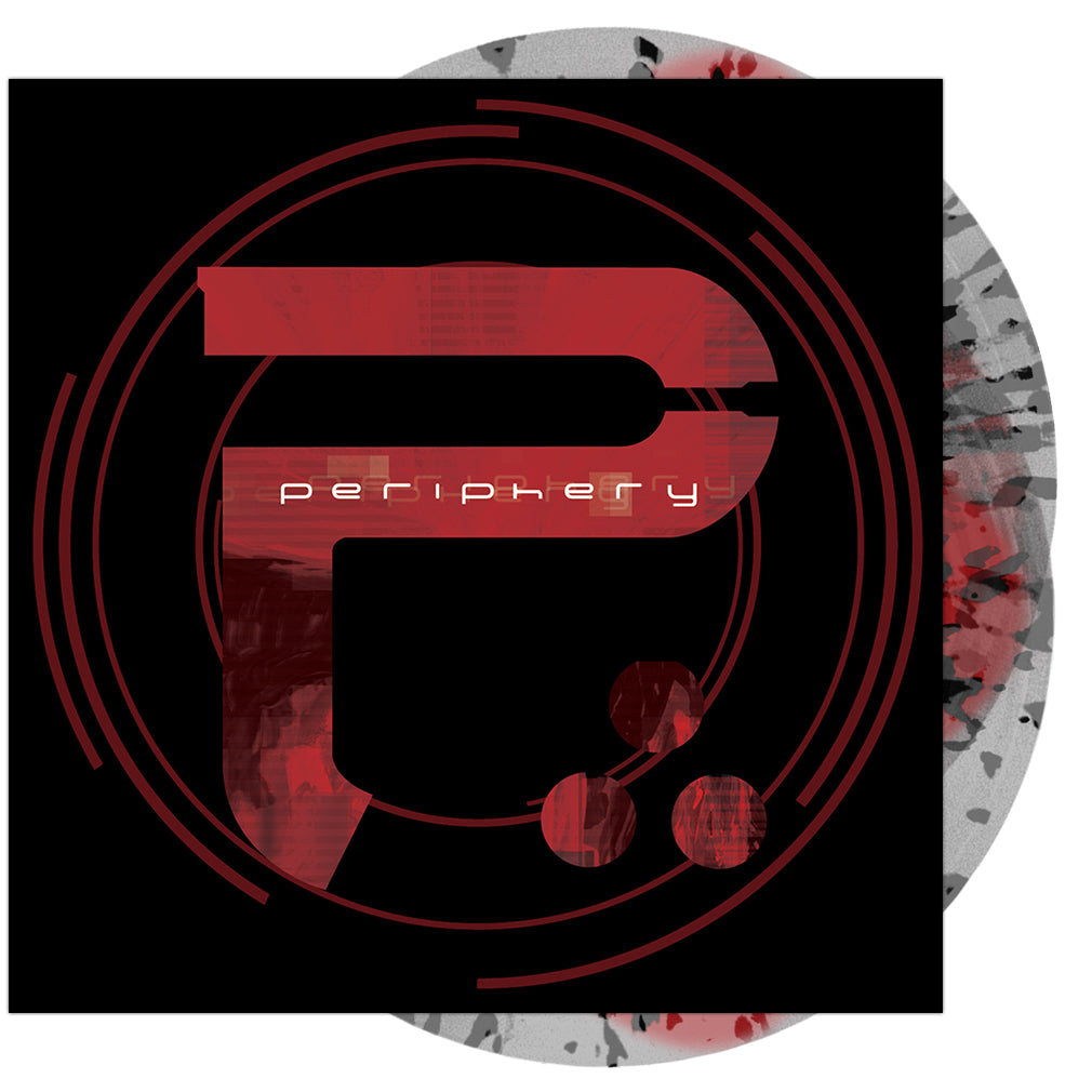 Periphery - 'Periphery II: This Time It's Personal' Clear w/ Red Spill and Black Splatter Vinyl