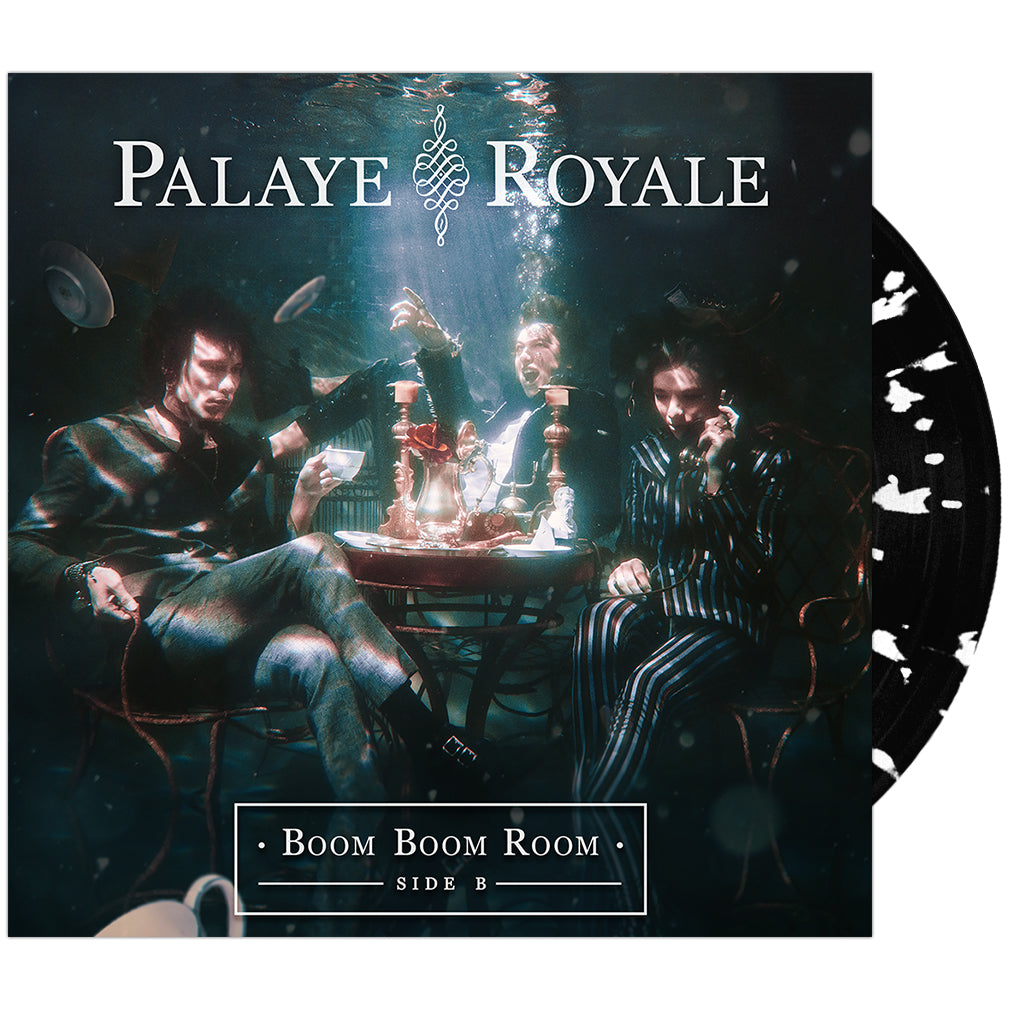 Palaye Royale - 'Boom Boom Room (Side B)' Black w/White Splatter Vinyl