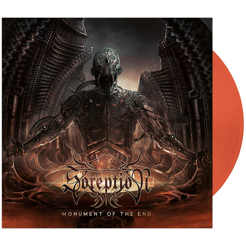 Soreption - 'Monument of the End' Trans Orange Vinyl