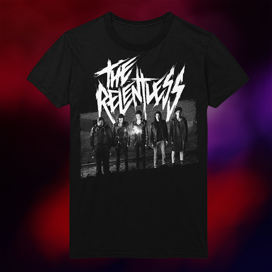 American Satan - The Relentless Photo T-Shirt (Black)