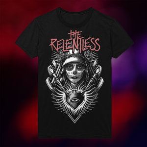 American Satan - The Relentless Illustration T-Shirt (Black)