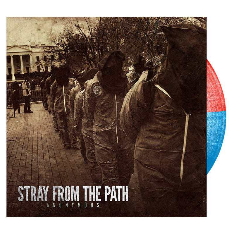 Stray From The Path - 'Anonymous' Red & Blue Vinyl