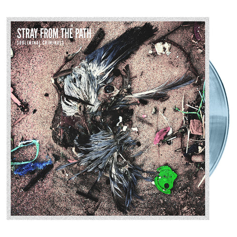 Stray From The Path - Subliminal Criminals 'Oil Spill' Vinyl