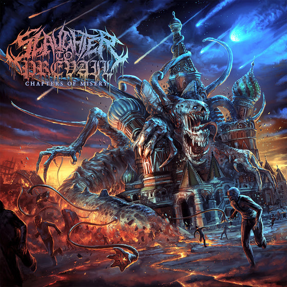 Slaughter To Prevail - 'Chapters Of Misery' EP CD Digipak