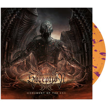 Soreption - 'Monument of the End' Orange w/Purple Splatter Vinyl