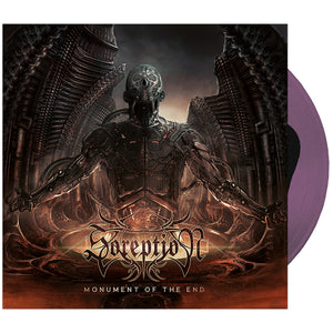 Soreption - 'Monument of the End' Black in Transparent Purple Vinyl