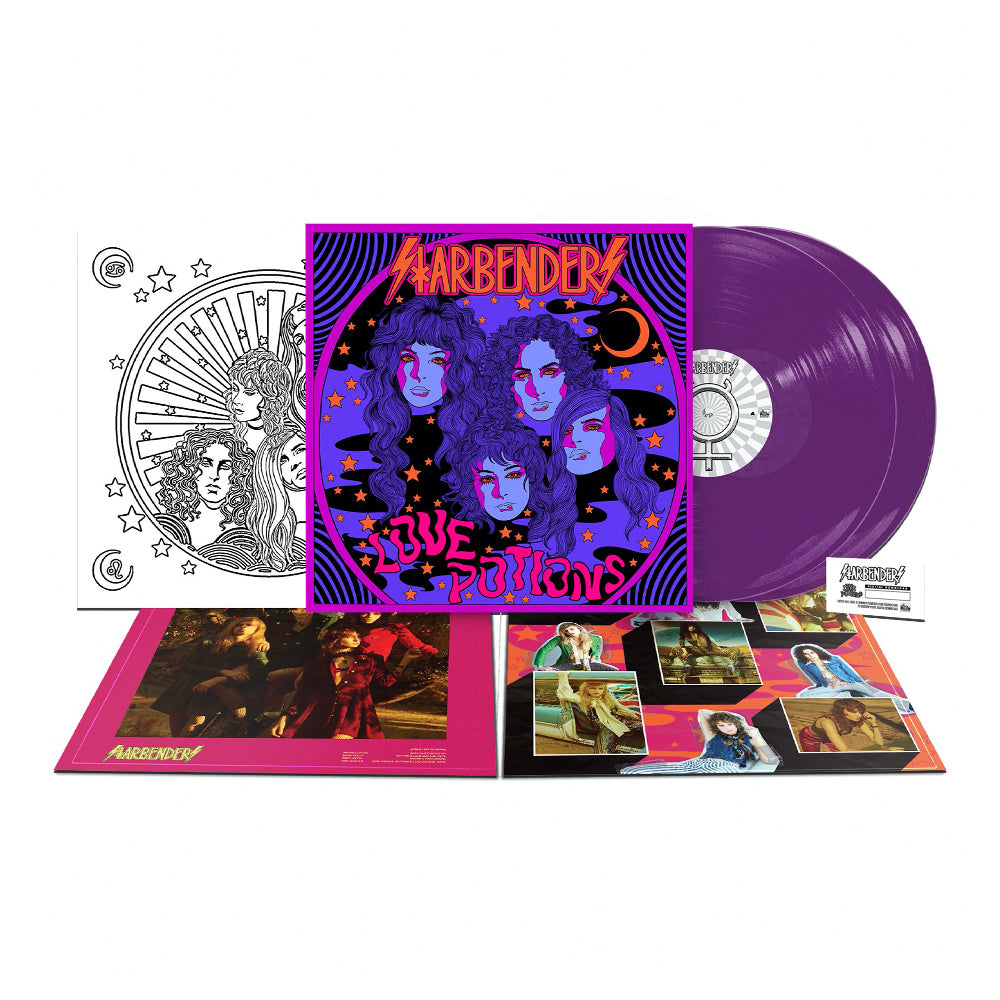 "Starbenders - 'Love Potions' 2xLP 12"" Transparent Purple Vinyl"