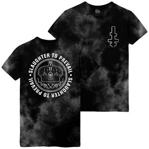 Slaughter To Prevail - Cross & Crown Storm Wash Tee