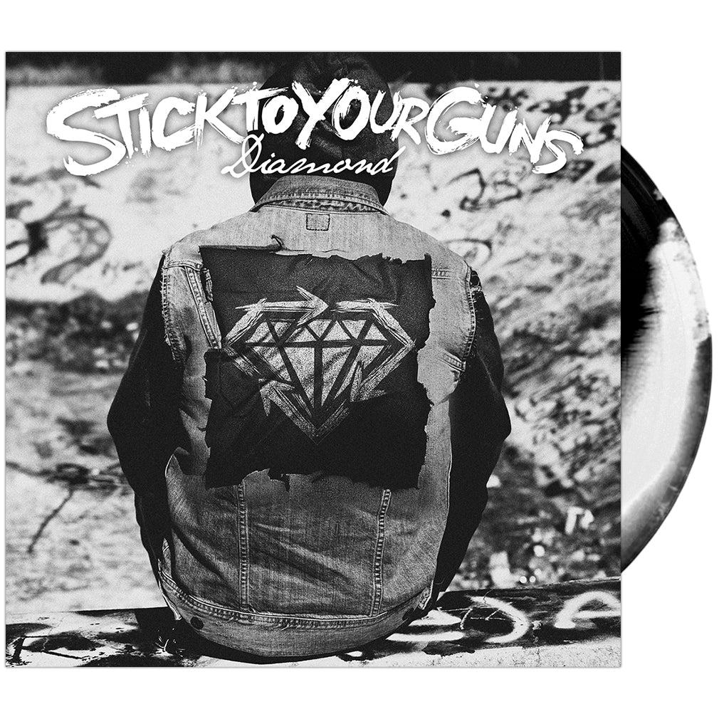 Stick To Your Guns - 'Diamond' Black/White Merge Vinyl