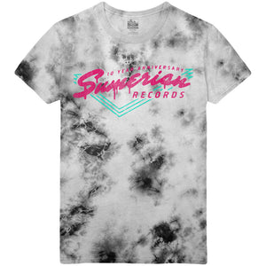 Sumerian Records 10 Year - Drive In Tie Dye Tee