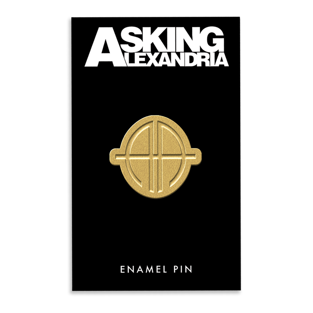 Asking Alexandria - Gold Pin