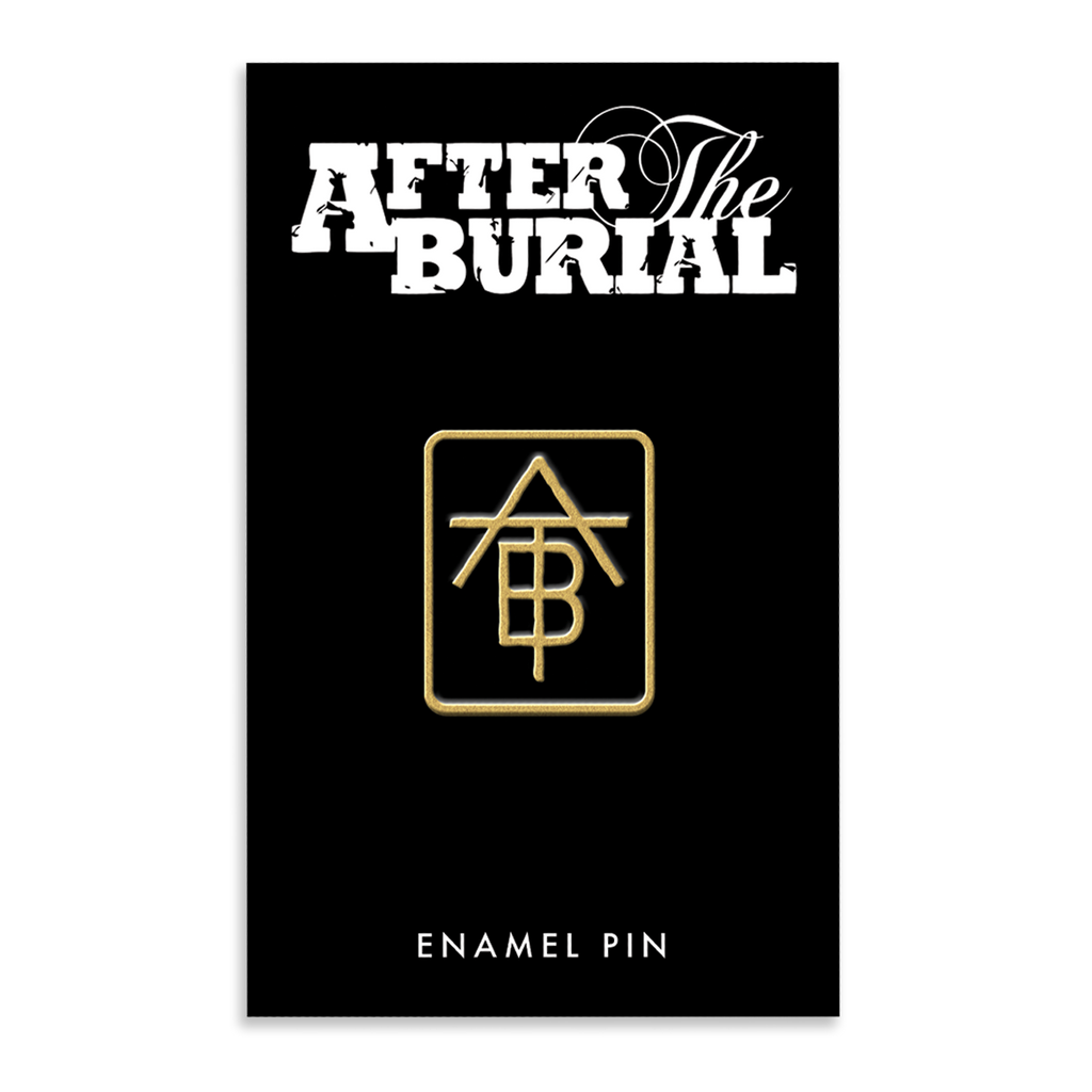 After The Burial - Gold Pin