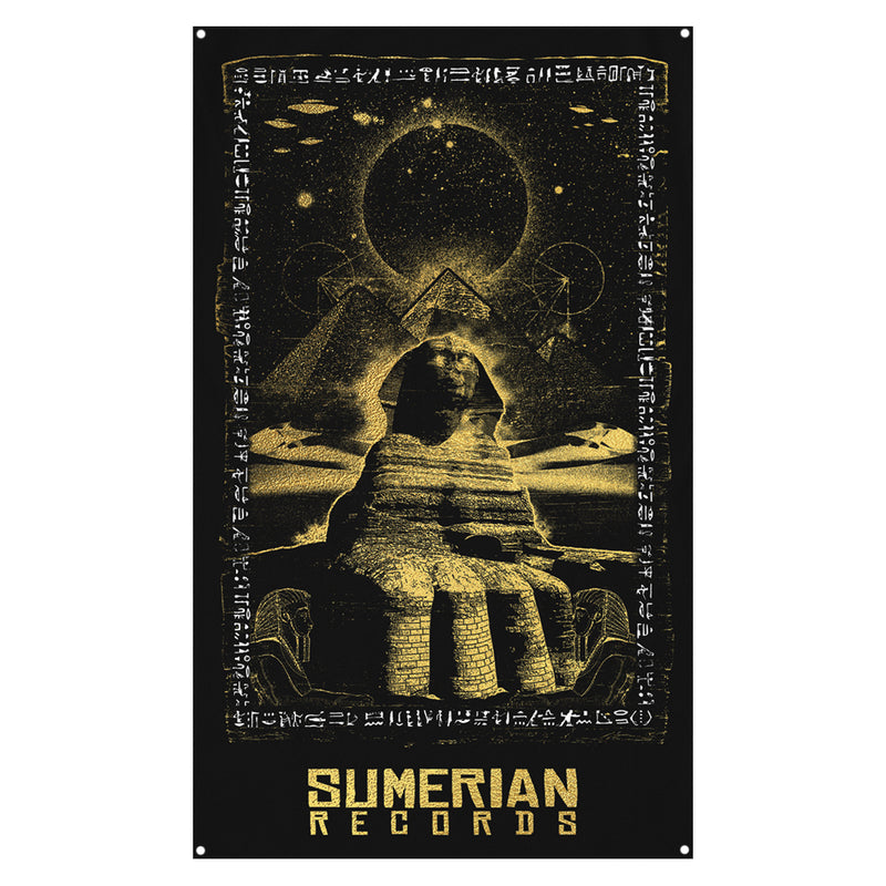 Sumerian Records - Sphinx Wall Flag