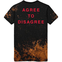 Sleeping With Sirens - Agree to Disagree Acid Wash Tee