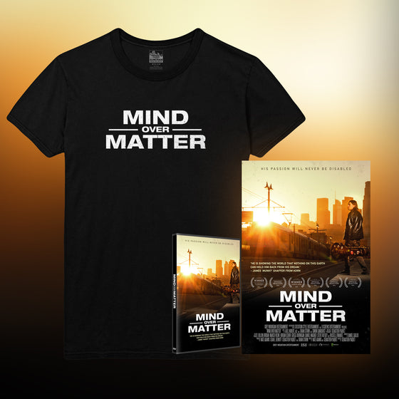 Mind Over Matter [DVD] + Poster + Logo T-Shirt (Black)