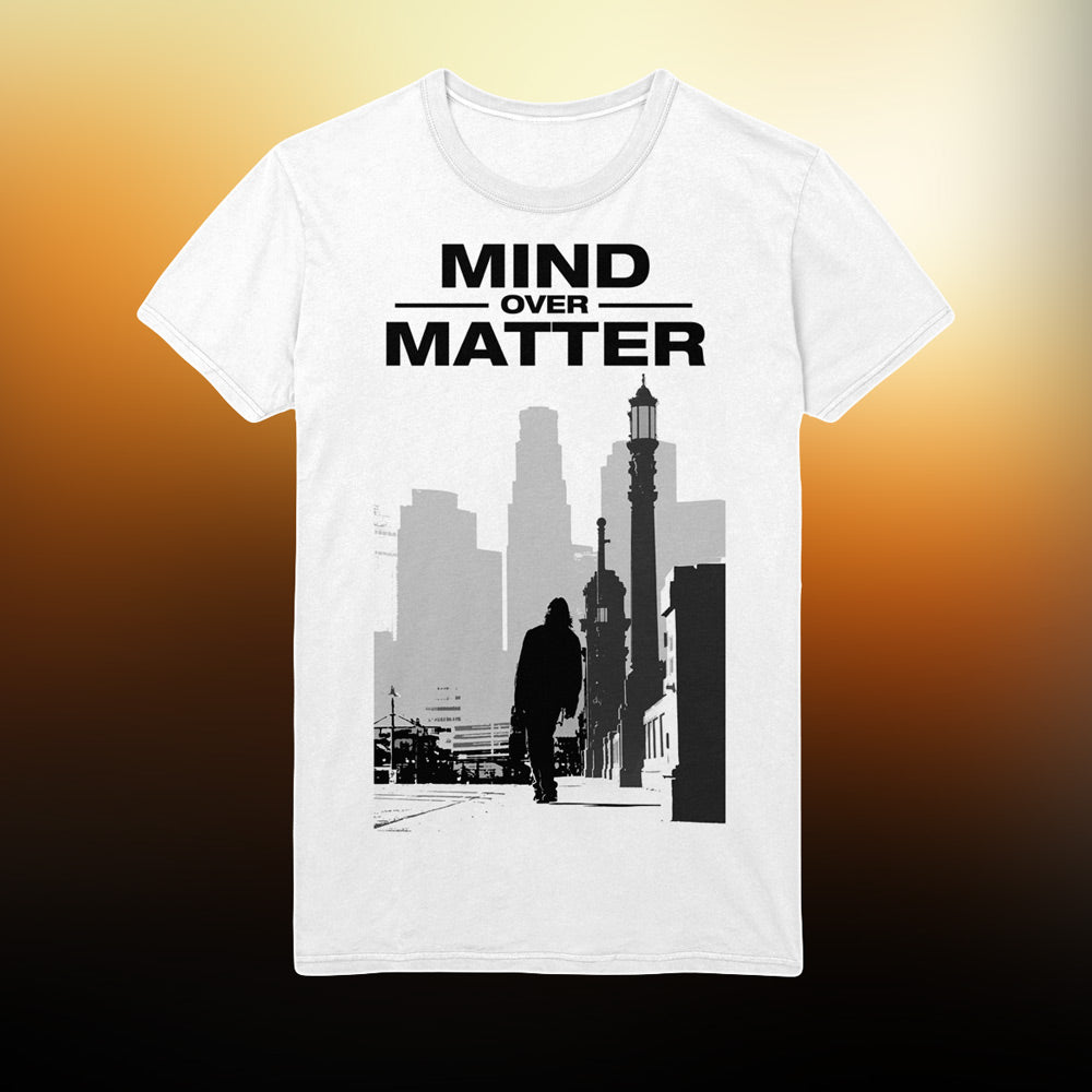 Mind Over Matter - Silhouette T-shirt (White)