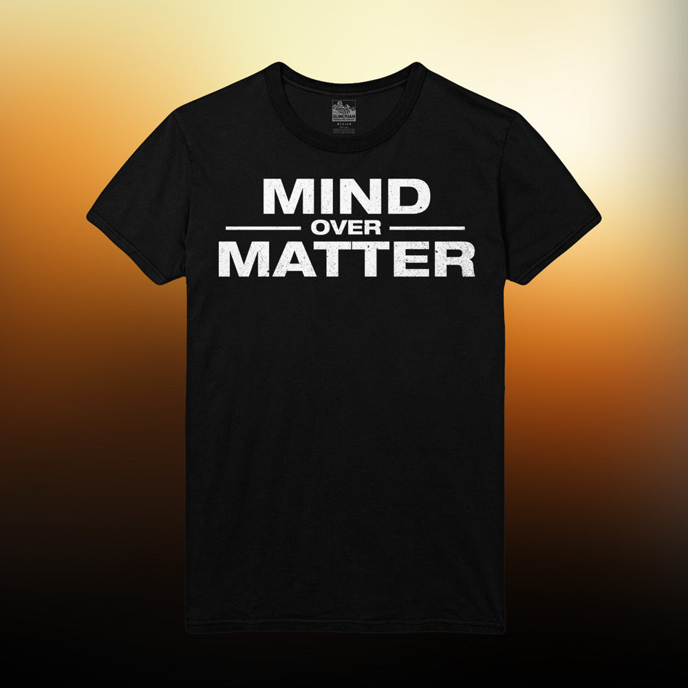 Mind Over Matter - Logo T-Shirt (Black)