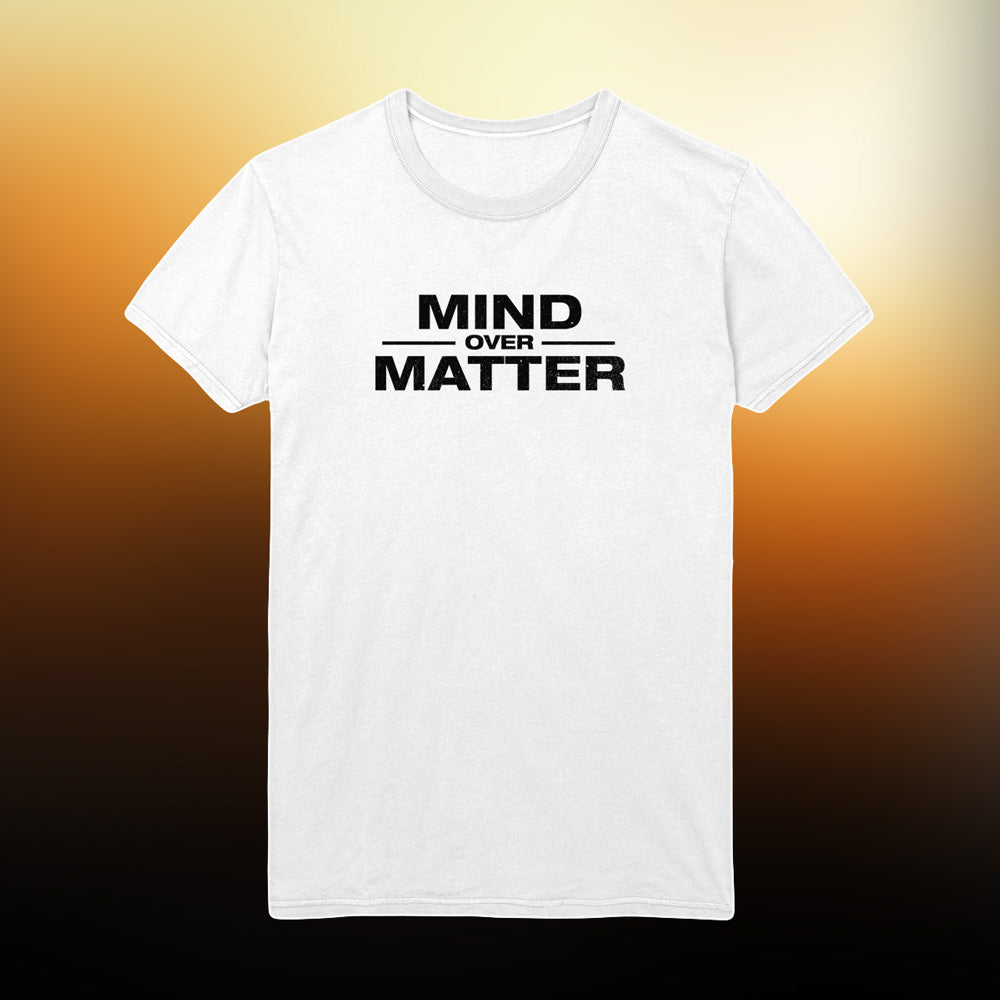 Mind Over Matter - Logo T-Shirt (White)