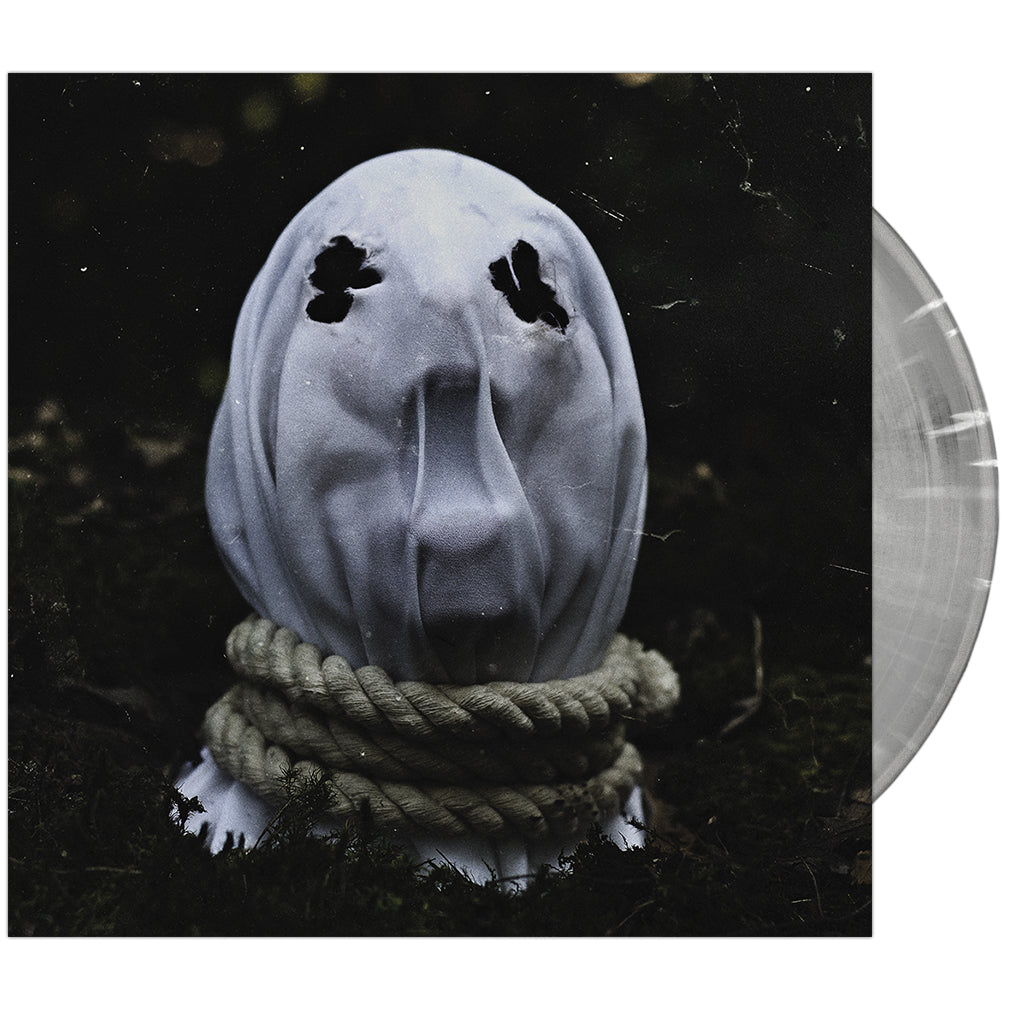 The Faceless - 'In Becoming A Ghost' Cloudy Clear with White Vinyl